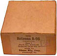 Antenna 98 for AN/CRT-3 in box.