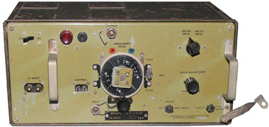 Amplifier RF No. 2 front panel view.