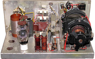 Amplifier RF No. 2 chassis view.
