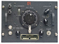 BC-211 front panel view.