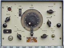 CH4-1 front panel.