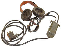 Swedish tank headset assembly